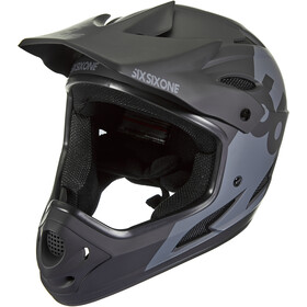 SixSixOne Comp Full-Face Helm black